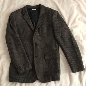 Men's Medina Houndstooth Slim Fit Blazer M